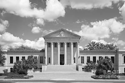 Louisiana State University Hebert Law Center Art Print by University Icons