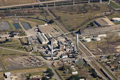 Photograph - Louisiana Sugar Refinery by Ronald Olivier
