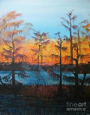 Painting - Louisiana Swamp Fais Do Do by Lizi Beard-Ward