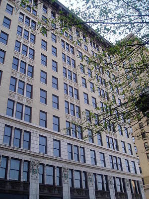 Photograph - Louisville  Buildings 1 by Jennifer E Doll