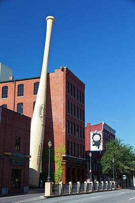 Louisville Slugger Baseball Bat Factory Art Print by Photostock-israel