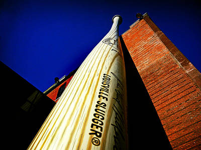 Photograph - Louisville Slugger Bat Factory Museum by Bill Swartwout