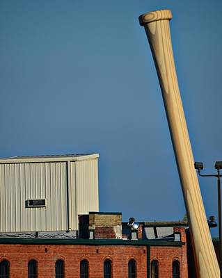 Photograph - Louisville Slugger by Steven Richman