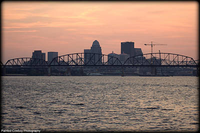 Louisville Sunset 2 Original by Daniel Jakus