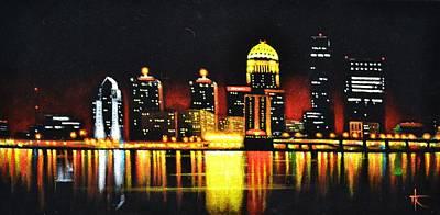 Louisville Art Print