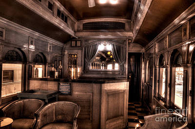 Photograph - Lounge Car by Paul W Faust -  Impressions of Light