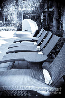 Lounge Chairs Art Print by Sophie Vigneault