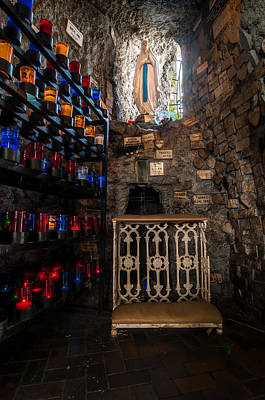 Photograph - Lourdes Grotto In New Orleans by Andy Crawford