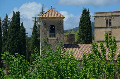 Photograph - Lourmarin Castle In Provence by Dany Lison