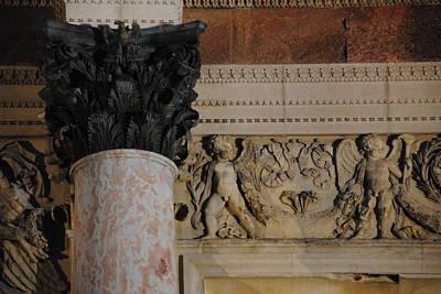 Photograph - Louvre Detail by Jacqueline M Lewis