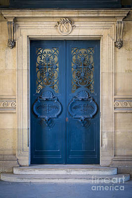 Photograph - Louvre Doorway - Paris by Brian Jannsen
