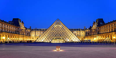 Photograph - Louvre by Joel Thai