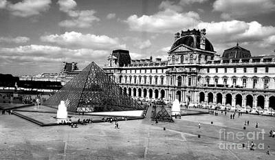 Photograph - Louvre Museum by Crystal Nederman