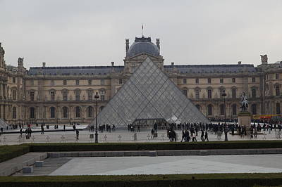 Visitors Photograph - Louvre - Paris France - 011310 by DC Photographer