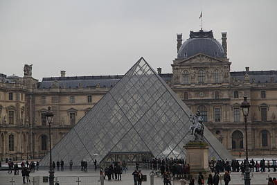 Louvre - Paris France - 011314 Art Print by DC Photographer