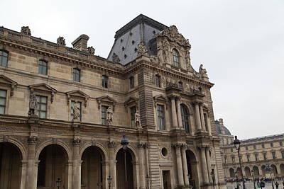 Couple Photograph - Louvre - Paris France - 011317 by DC Photographer