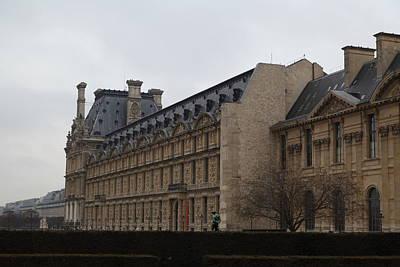 Pyramid Photograph - Louvre - Paris France - 011318 by DC Photographer