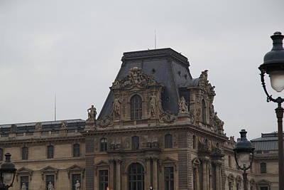 Louvre - Paris France - 011321 Art Print by DC Photographer