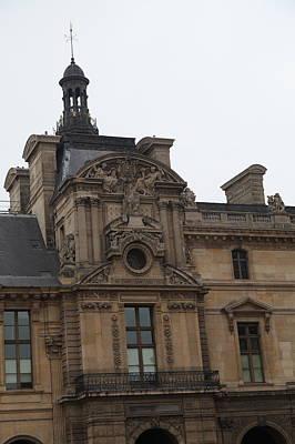 Vertical Photograph - Louvre - Paris France - 011322 by DC Photographer