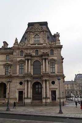 Galleries Photograph - Louvre - Paris France - 011327 by DC Photographer