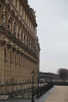 Couple Photograph - Louvre - Paris France - 011330 by DC Photographer
