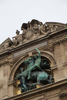Pyramid Photograph - Louvre - Paris France - 011332 by DC Photographer