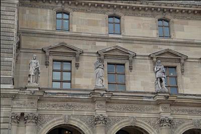 Louvre - Paris France - 01137 Art Print by DC Photographer