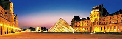 Louvre Paris France Art Print