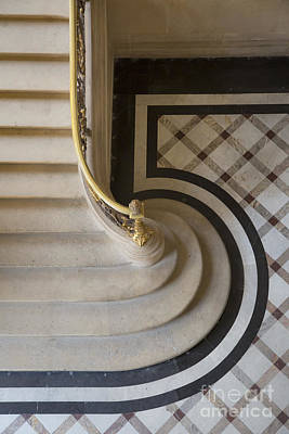 Photograph - Louvre Steps by Brian Jannsen