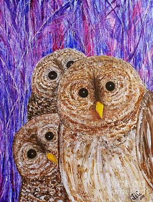 Painting - Lovable by Jane Chesnut