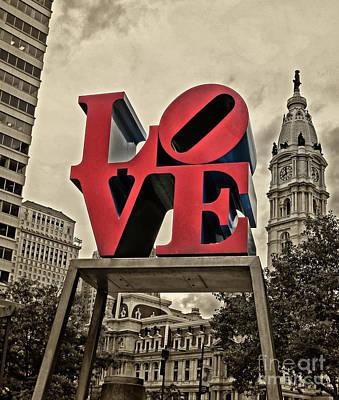 Love 3 Art Print by Jack Paolini