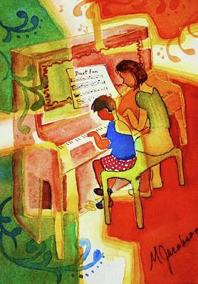 Painting - Love A Piano 2 by Marilyn Jacobson