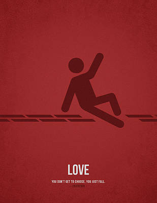 Love Art Print by Aged Pixel