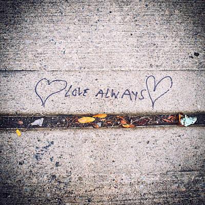 Love Always Print by Tanya Harrison