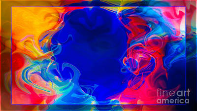 Digital Art - Love And All Of Its Mysteries Abstract Healing Art by Omaste Witkowski