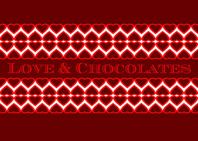 Digital Art - Love And Chocolates by Paul Ashby