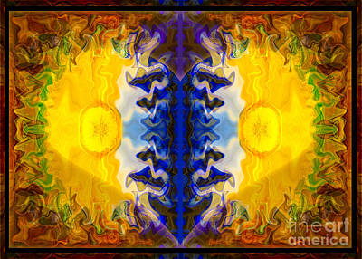 Painting - Love And Loss Abstract Healing Artwork by Omaste Witkowski