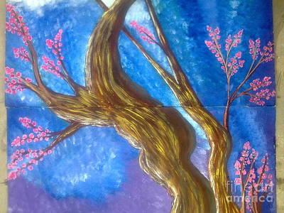 Syeda Ishrat Painting - Love And Nature by Syeda Ishrat