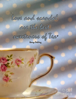 Photograph - Love And Scandal by Karen Lewis