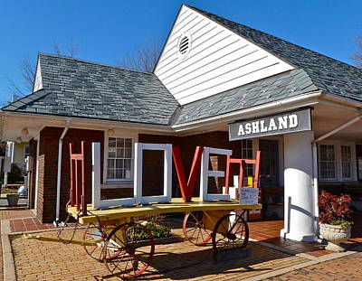 Photograph - Love Ashland by Jean Wright