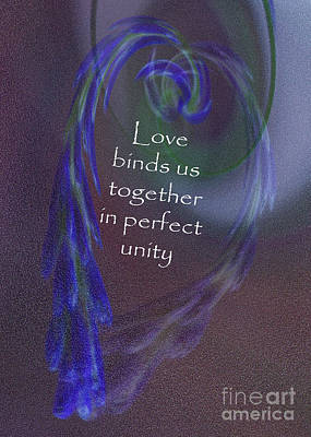 Digital Art - Love Binds by Sandra Clark
