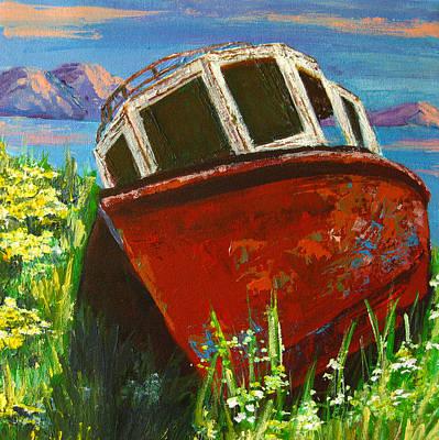 Painting - Love Boat by Patricia Awapara