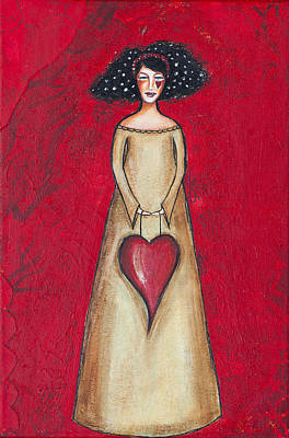 Mixed Media - Love Bringer by Stanka Vukelic