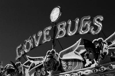 Photograph - Love Bugs - Infrared by Pamela Critchlow