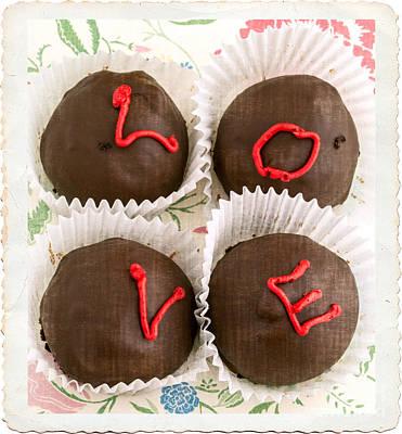 Love Cakes Art Print by Edward Fielding