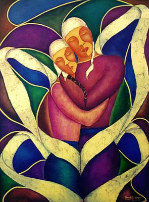 Painting - Love Divine by Claudette Dean