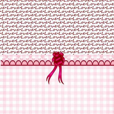 Valentines Day Digital Art - Love  by Debra  Miller