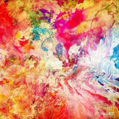 Love Art Print by Donika Nikova