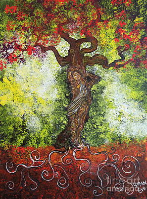 Trees Painting - Love Embodied by Stefan Duncan