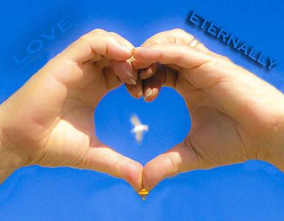 Eternally Photograph - Love Eternally.... by Rebecca Dru
